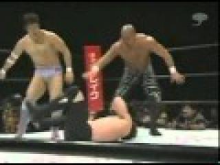 [INOKI BOM-BA-YE] Takada & Mutoh vs Don Frye & Ken Shamrock 2