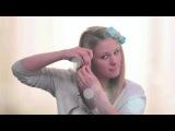 Как правильно накрутить волосы на бигуди. Смотрите на видео.