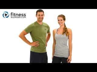 5 Day Workout Challenge to Burn Fat & Build Lean Muscle - Day 2 Upper Body - Fitness Blender