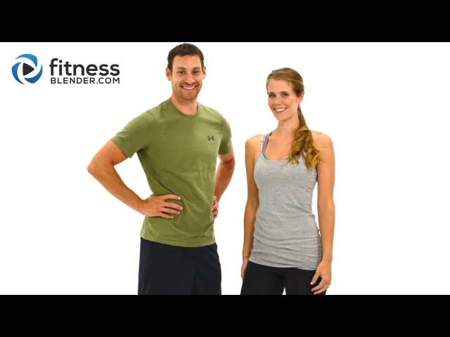 FitnessBlender - Day 2. Challenge to Burn Fat and Build Lean Muscle