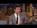 Zac Efron, Fran Lebowitz, Amazing Grace - The Tonight Show with Jimmy Fallon 17.08.15