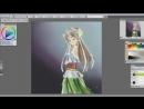 Speed painting Aiyoku no Eustia Eris Floralia