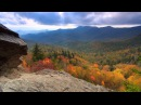 Scenic Time Lapse Fall Foliage Incredible Mountain Views Asheville North Carolina