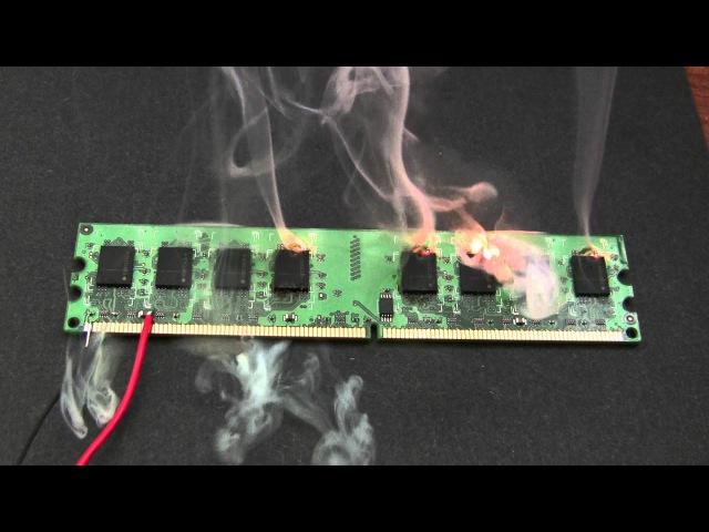 RAM overclocking failure