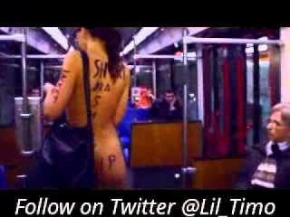 Woman Travels Naked On Public Train In Germany