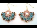 Beading4perfectionists Art Deco stylish earrings beading tutorial