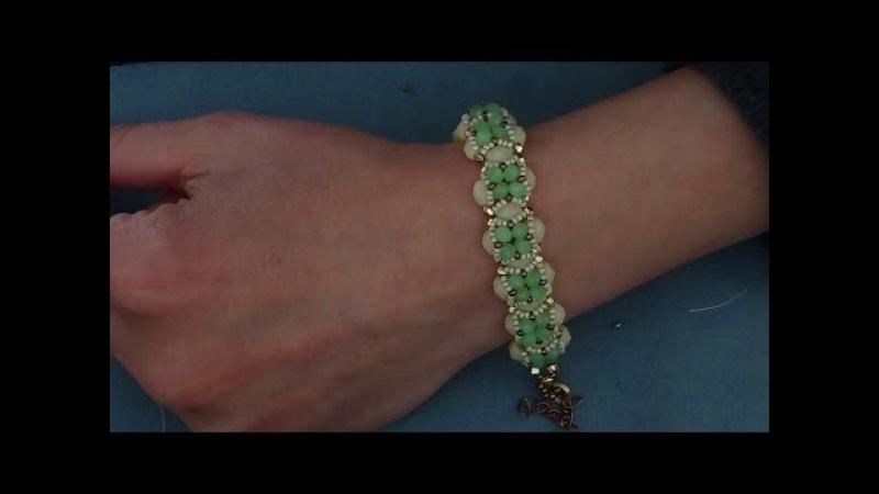D.I.Y. tutorial bracciale mezzi cristalli
