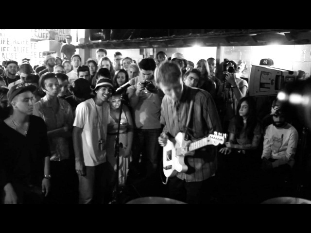 King Krule performs live at Alife NYC