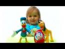 Первое видео Мисс Кэти Мики Маус Дисней Первый в жизни Киндер Сюрприз Mickey Mouse Kinder