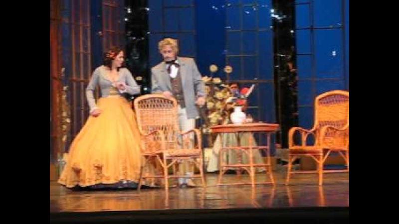Vladimir Kuznetsov nel partito Germont, l'opera La Traviata