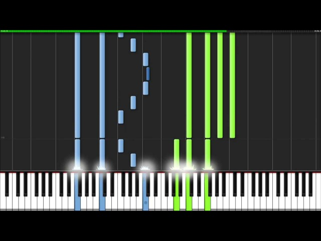 The Lord of the Rings Medley - The Lord of the Rings [Piano Tutorial] (Synthesia)
