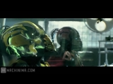 Mortal Kombat Legacy 2015. Series 9. Cyber battle. Syrax, Sektor vs Hydro бой киборгов под дабстеп