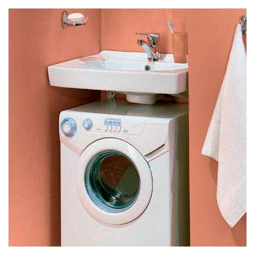 Дизайн маленькой ванной со стиральной машинкой фото