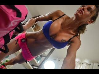 1 День 4 Неделя - Снимите лишнее - Жиросжигающая и силовая тренировки, бодирок-пластика
