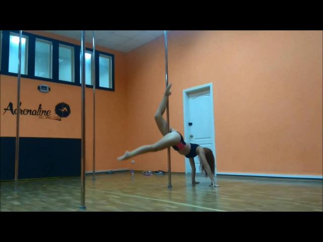 Inna Kibko Pole dance studio ADRENALINE Kirovohrad