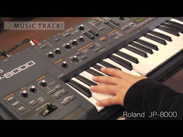 ROLAND JP-8000 DemoReview [English Captions]