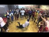 Mangol vs Getto Kid CYPHER BATTLE BITVA SHKOL MOSCOW 12 03 16