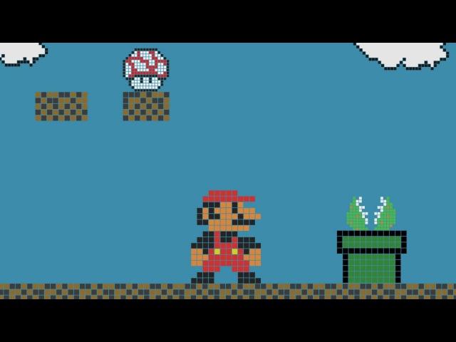 Anime Studio Pro (Moho Pro) - Как сделать персонажей и анимацию в стиле Pixel Art 8 bit. Mario