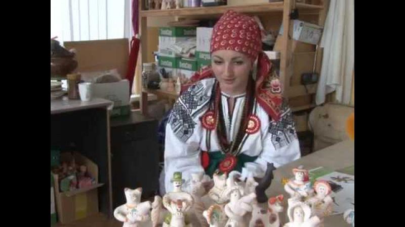 Керамист Оксана Рощукина познакомила Тулу с традиционной оскольской глиняной игрушкой