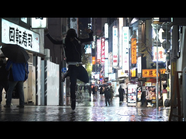 LIL BUCK in Tokyo Rain Japan | YAKFILMS x ROBOT ORCHESTRA