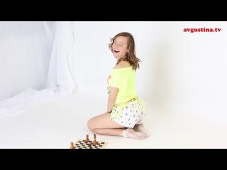 Шахматная партия с Августиной № 2, Шахматные Задачи, Мат в Один Ход, Шахматы на www.avgustina.tv