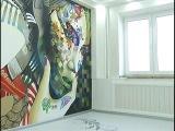 Дизайн двухкомнатной квартиры с наливными полами от студии дизайна интерьера AlexandraBakka