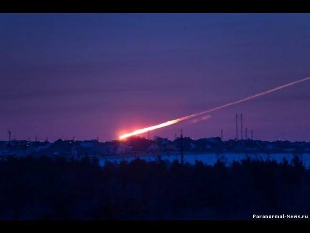 Meteorite falling over Russia AMAZING New HQ Footage Compilation Челябинск метеорит
