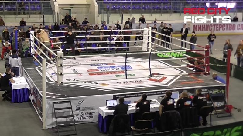Бой №010_ Р. Алекберов - Р. Саубанов. MMA, чемпионат ПФО - 2016 (пред)