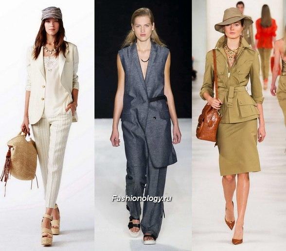 Модные Костюмы Женские 2015