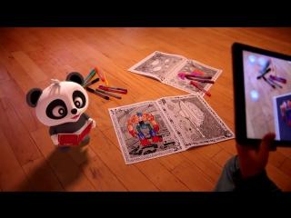 Живая раскраска Magic Book. Magic Book - это первые в мире живые обучающие 3D раскраски