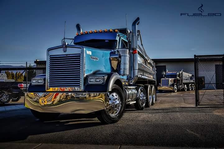 Мощные и красивые грузовики