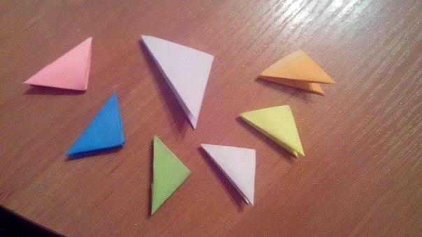 модульного оригами большие