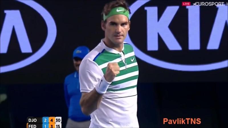 Изумительный розыгрыш - Джокович и Федерер в полуфинале Australian Open