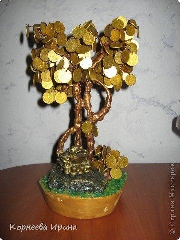 Как сделать своими руками дерево с монетками