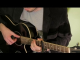 Masaaki Kishibe - Drifting Clouds (Guitar Cover)