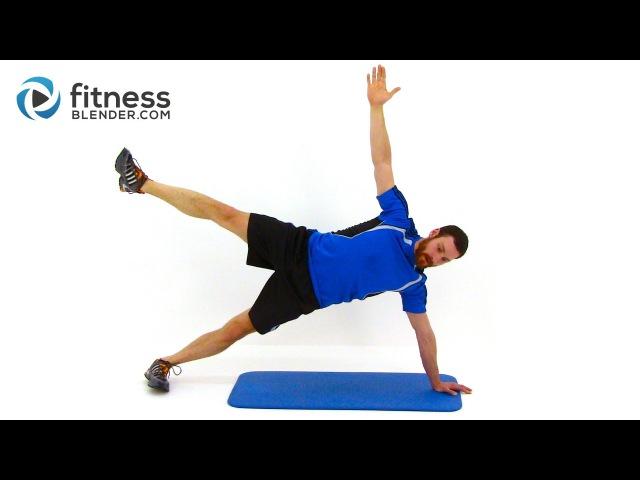 FitnessBlender - Advanced Plank Workout   Тренировка с планками