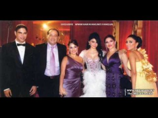 Haifa Wehbe with Arab celebrities; her wedding 2009 , variety of pictures