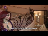 Haifa Wehbe In Cannes 2014 تغطية و لقاء هيفاء وهبي المثير في حفل م&#1
