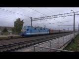 Электровоз ЭП1М-535 с поездом №325Е Пермь - Новороссийск