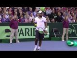 HD Andy Murray vs Donald Young Amazing Point DAVIS CUP 2015