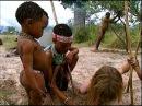Типпи Дегре белая,бесстрашная девочка из Африки одна общается со зверями и чёрными дикарями. Документальный фильм