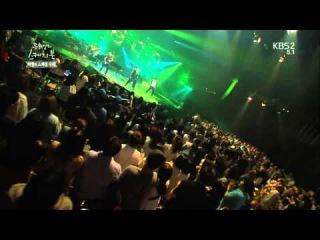 BIG BANG на шоу Наброски Ю Хиёля: выступление с Lies