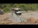 Сюжет программы НТВ утром о проведении испытаний дорожных ограждений в Центре испытаний ФГУП «НАМИ»