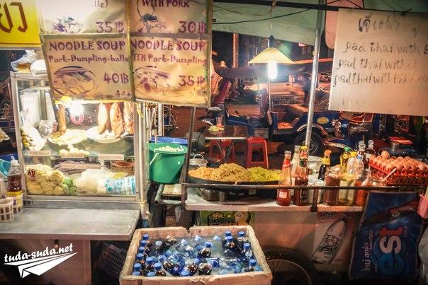 Уличная еда, Таиланд