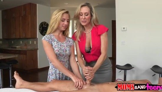 MomsBangTeens – Brandi Love And Taylor Whyte Love Is In The Bare XXX