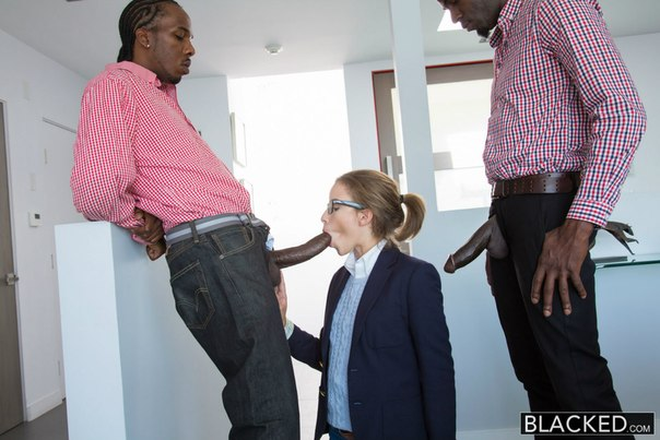 Blacked – Natasha White – Teen Threesome with Two Monster Dicks