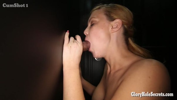 Her first glory hole