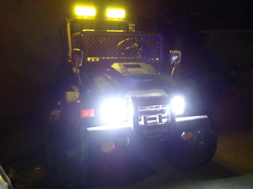 Светодиодное освещение на электромобиль(для тех кто не силён в электронике)