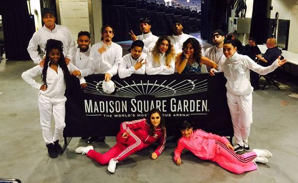 Alyson Stoner madison square garden
