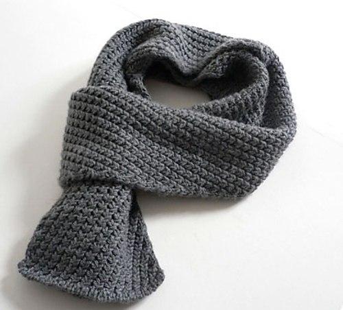 Мужской шарф (3 фото) -